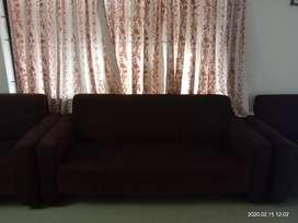 Sofa set brown