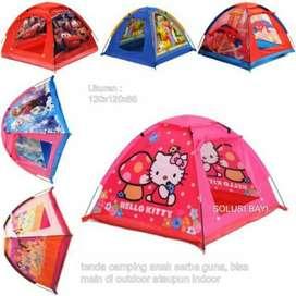 BAYAR DIS TEMPAT Tenda Anak Karakter Kartun Tenda Camping Anak Mainan
