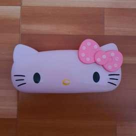 Tempat pensil anak - anak kotak pensil hello kitty lucu perkalian cute
