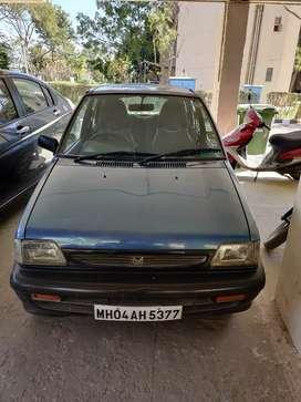 Sale of Maruti 800 DX