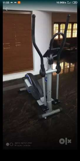 Gym workout tricycle good condition