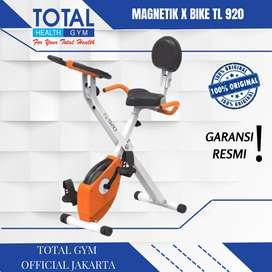 Sepeda statis x bike TL-920 sepeda lipat + sandaran TOTAL