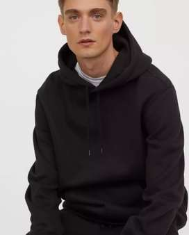 H&M Divided Edition Black Hoodie 100% Original.