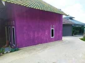 rumah beserta kontrakan 2 pintu