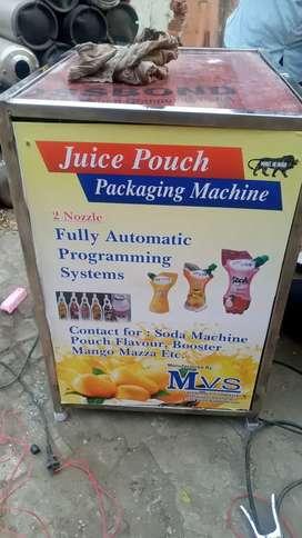 2 nozel pouch filling machine
