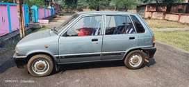 17 yr old maruti 800 non AC car for sale. Reg nenwal till 2023