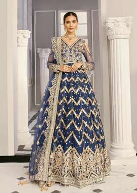 Bridal Drees Maxi with Heavy Work