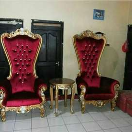 Kursi sofa tamu atau teras syahrini, kayu jati, free ongkir