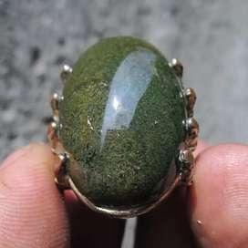 Akik Cincin Batu Lumut Garut Lawas Langka COD hanya CIPONDOH