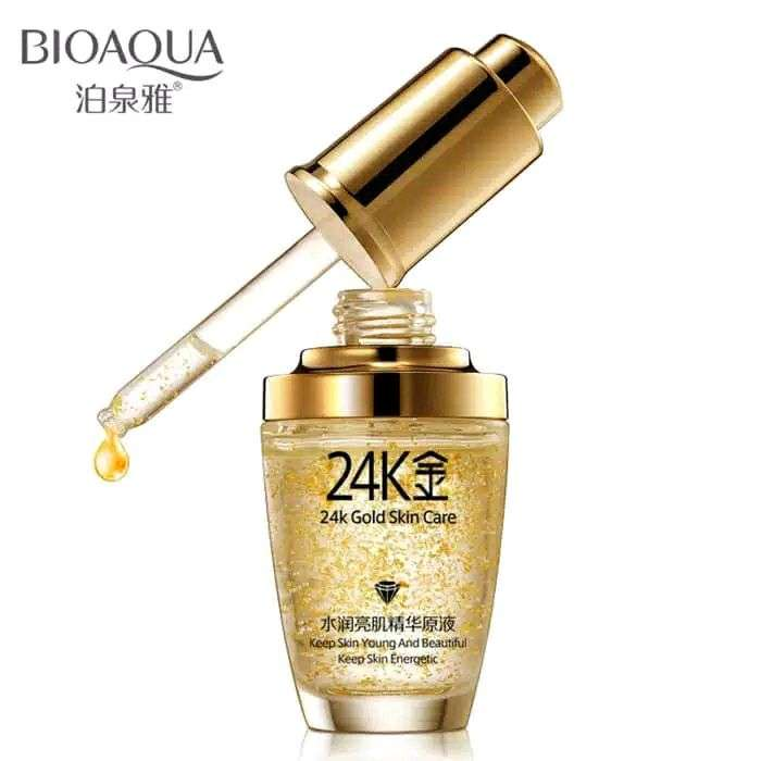 Bioaqua Serum Wajah Emas 24K Gold Essence Skin Care 0
