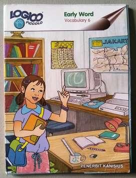 "Buku Logico Piccolo ""EARLY WORD"" Vocabulary 6"