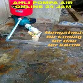 Ahli Tukang Bor Sumur-Service Pompa Air-Servis Mesin Sanyo Berkualitas
