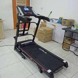 HEMAT BIAYA TL-645 Electric Treadmill 2 hp + Mass Manual Incline