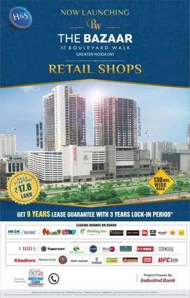 Pre Leased Commercial Shop,  Retail Shop