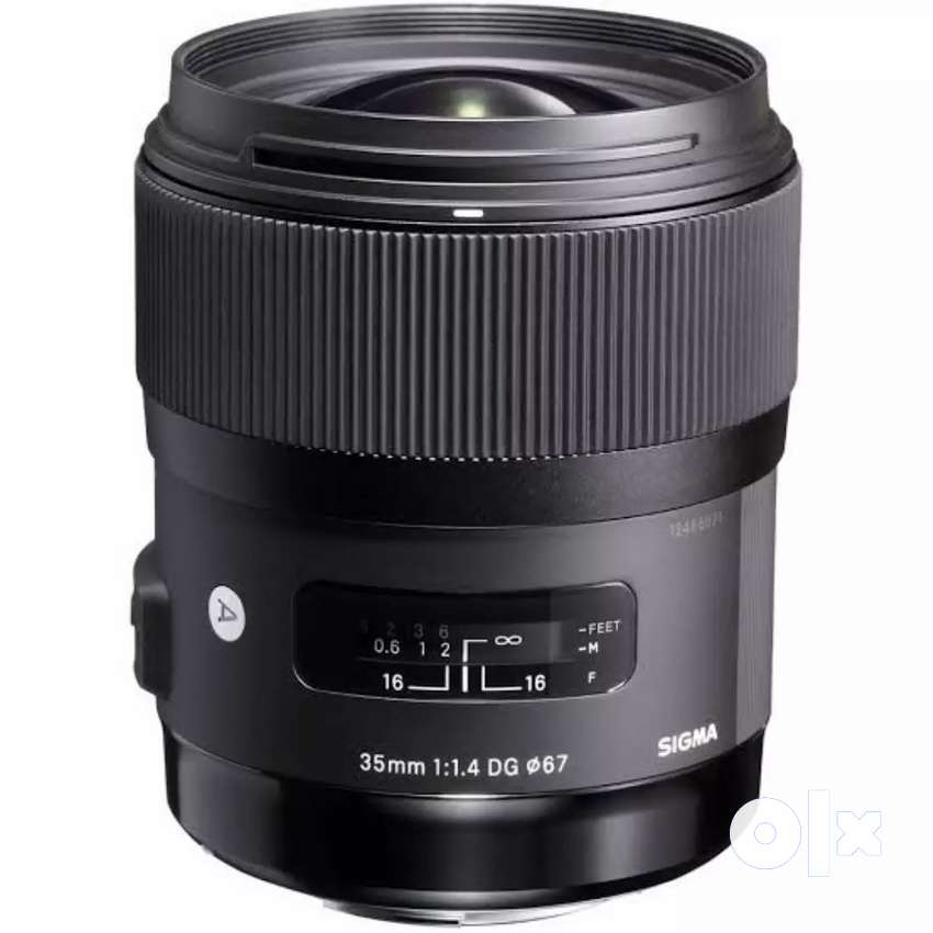 SIGMA 35mm F/1.4 LENS FOR RENT 0