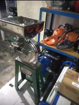 Mesin penepung stainless, ukuran 15+dinamo 1 hp