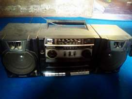 Panasonic Cassette player and Radio