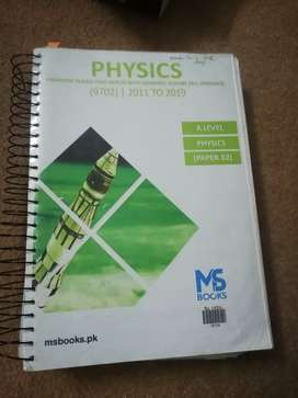 A-Level Yearly past papers(Physics, Chemistry, Maths and Computer)