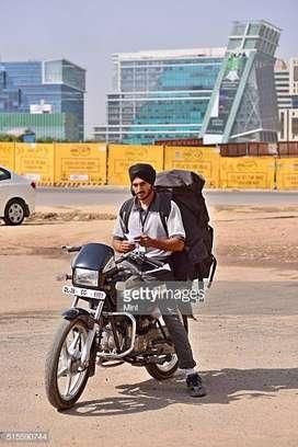 Delivery Boy (Biker)