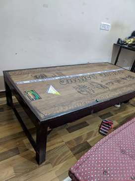 Single Wooden Bed Perfect Condition