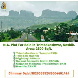 Great Investment Opportunity to buy NA Plots in Trimbakeshwar, Nashik