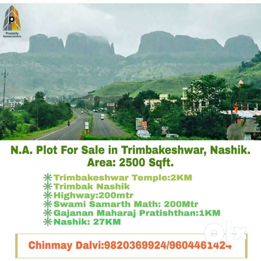 Great Investment Opportunity to buy NA Plots in Trimbakeshwar, Nashik 0