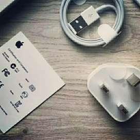 Charger Original iPhone KAKI 3 Garansi 1 Bulan, RUSAK GANTI BARU