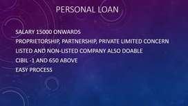 Spot approval on Personal Loans (15k)