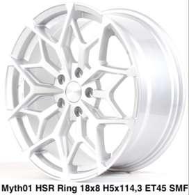 Velg keren MYTH01 HSR R18X8 H5X114,3 ET45 SMF