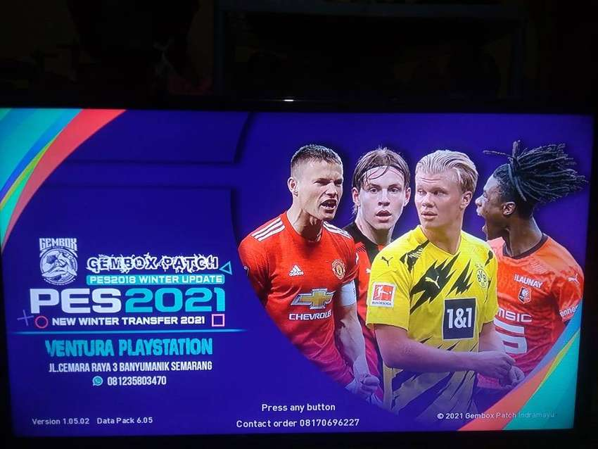 PES 2021 GEMBOX PS3