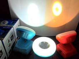 Senter LED Kepala Mitsuyama MS-2031 Headlamp 1 LED dan 12 SMD Terang