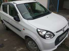White colour Alto800 LXI  in super condition  with insurance
