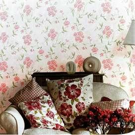 Dekorasi dinding rumah anda dengan Wallpaper bahan terbaik kami