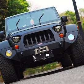 Jeep Wrangler JK Sport Unlimited 2011 4 Pintu Dark Green