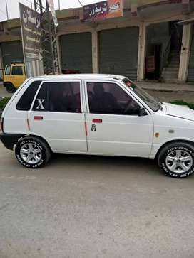 1989 model mehran fully dent and paint