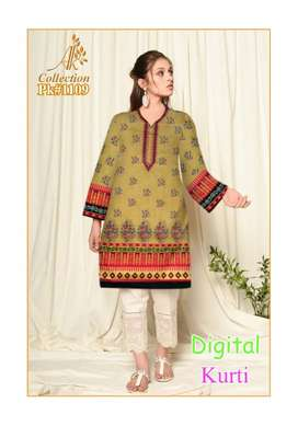 Printed Lawn Shirt Unstitched available in stock High quality