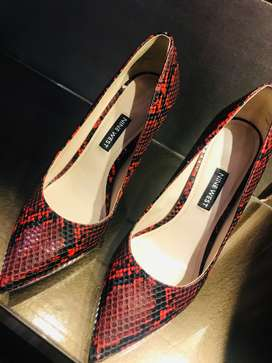 Nine West, Charles & Keith original. Recently bought. Worn only once