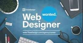 Web designer required urgently