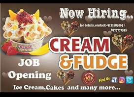 We need Proactive Leaders for our international ice cream parlor