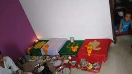 60 var plot 1BHK furnished home