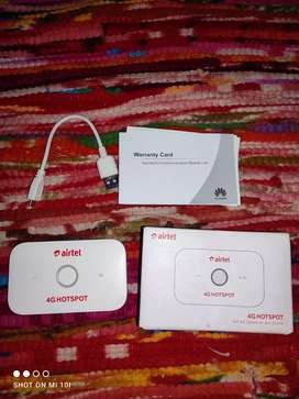 Airtel 4G hotspot unlocked  use 4G hotspot for any network