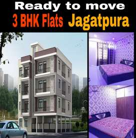 3 bhk flat near Akshaypatra Jagatpura 2.67 Lacs Subsidy 90% Loanable