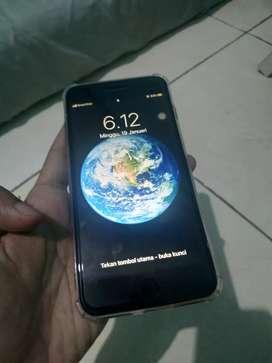 Iphone 7 Plus 128 GB Fullset Mulus