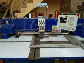 Embroidery industrial computer single head machine