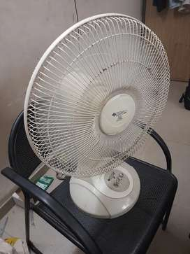 Table fan in working condition