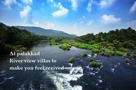 Newly built customized 3 BHK river view villa for sale in palakkad