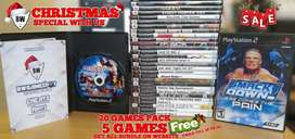 SALE PS2 GAMES / PS1 GAMES WITH BOX