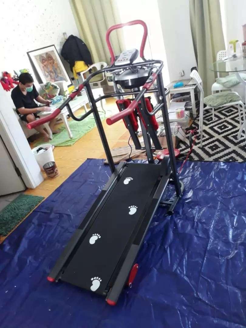 Promo..tl 004 treadmill manual 6 fungsi new