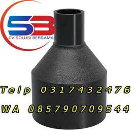 Fitting Injection HDPE Reducer Murah Ready