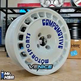 Velg Mobil Ignis,Xover,Jazz,Yaris Ring 15 Compomotive Motorsport